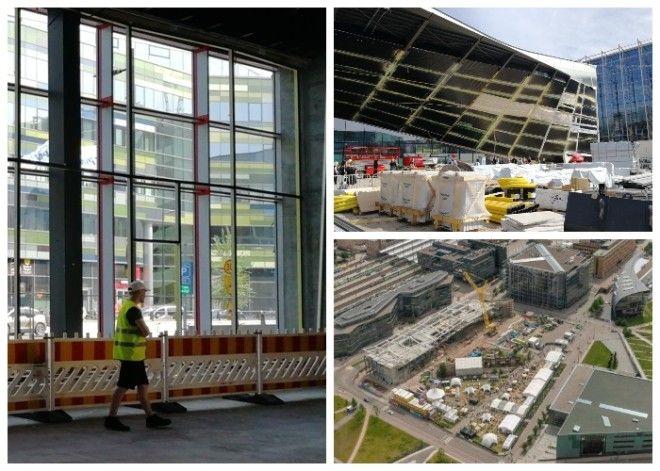 Возведение и оборудование центральной библиотеки заняло три года Oodi Хельсинки Фото strelkamagcom