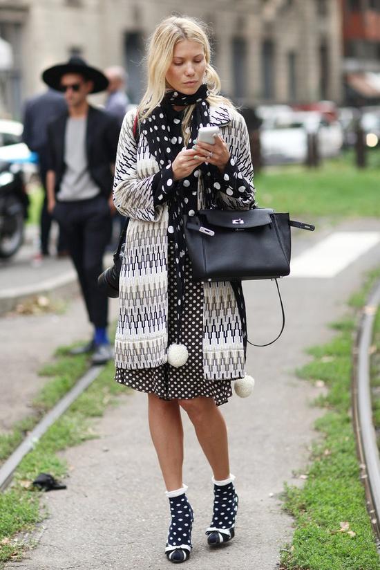 5 стильных платьев в горох, которые так и хочется примерить