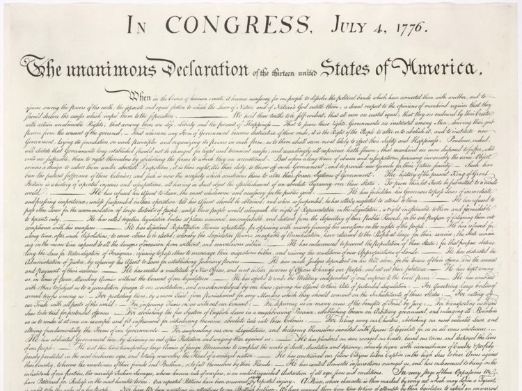 One man became a millionaire after accidentally purchasing an original copy of the Declaration of Independence at a flea market.