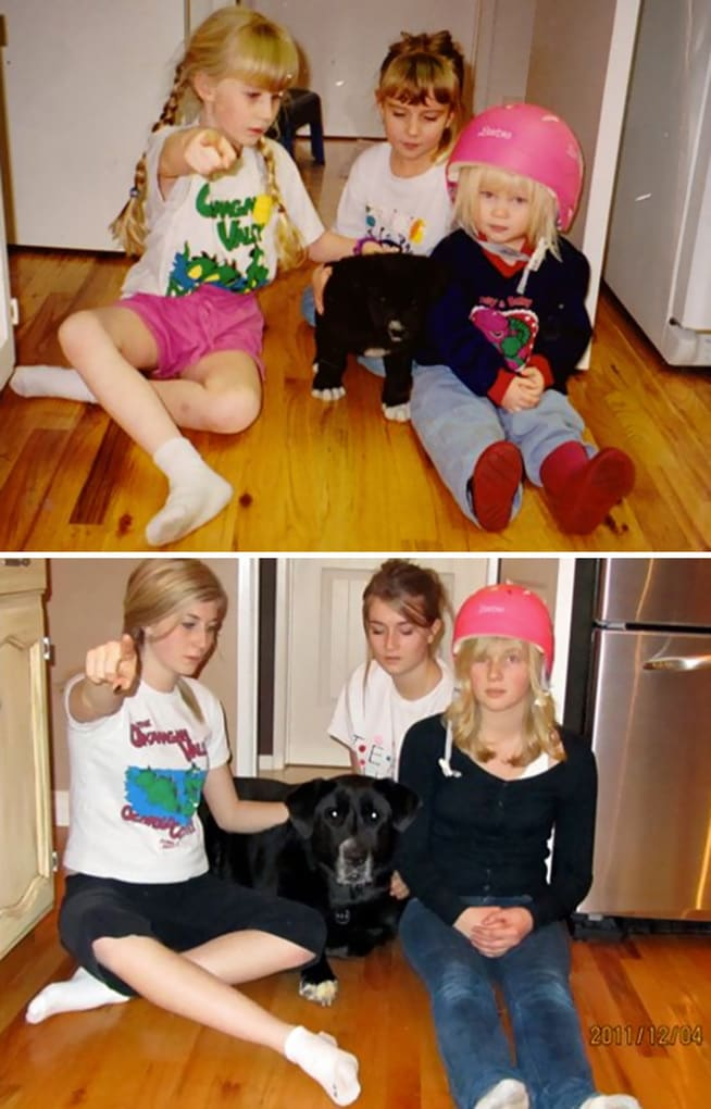 The Day We Got Our Puppy, And 11 Years Later