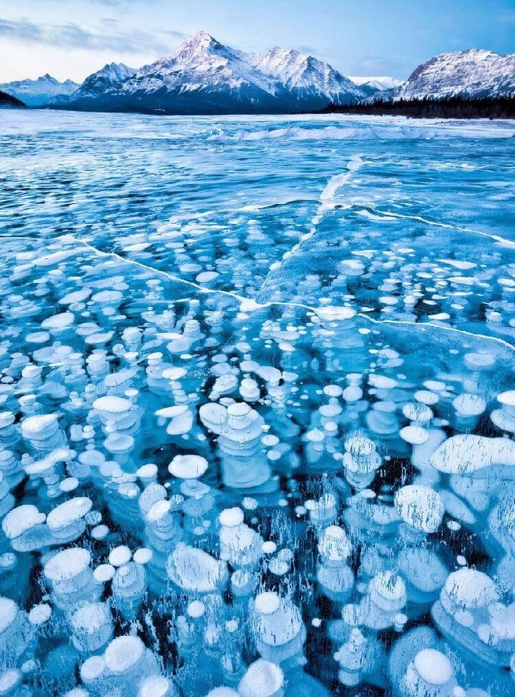 Водоем Эйбрахам, Канада