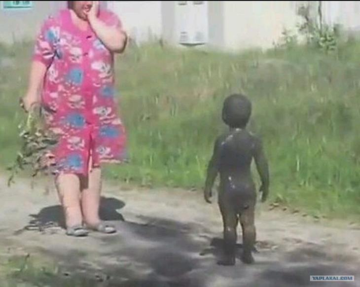15 фото из серии «Мама отвернулась на минутку…»