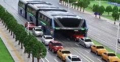 Китайский автобус, которому не страшны пробки